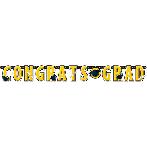 Congrats Grad Yellow Banner