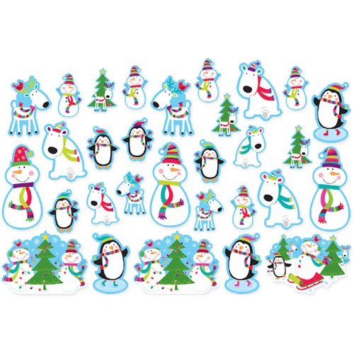 Joyful Snowman Cutout Value Pack