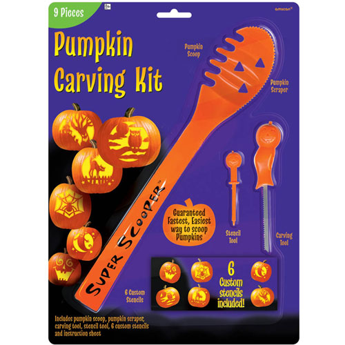 Super Scoop Pumpkin Carving Kit