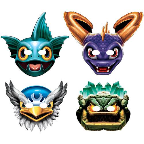 Skylanders Paper Masks