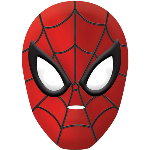 Spider-Man Vacuform Mask