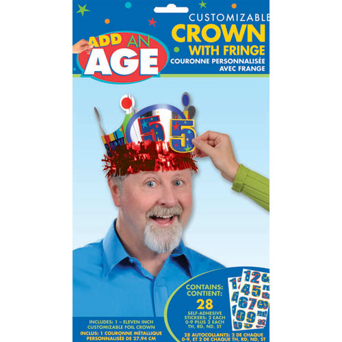 A Year To Celebrate - Happy Birthday Customizable Crown