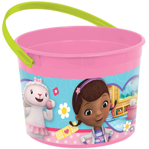 Doc McStuffins Favor Bucket