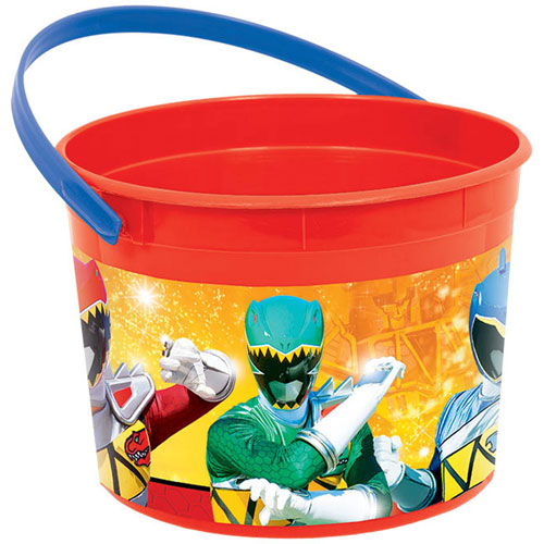 Power Ranger Dino Charge Favor Bucket