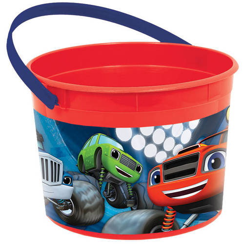 Blaze and The Monster Machines Plastic Favor Bucket