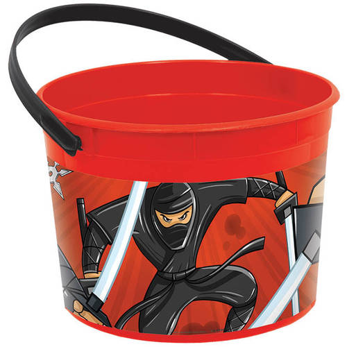Ninja Plastic Favor Bucket