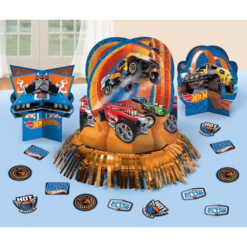 Hot Wheels Wild Racer Table Decorating Kit