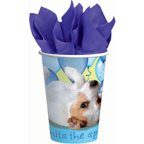 Party Pups 9oz Paper Cups (8ct)