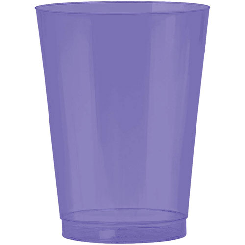 New Purple 10oz Plastic Cups