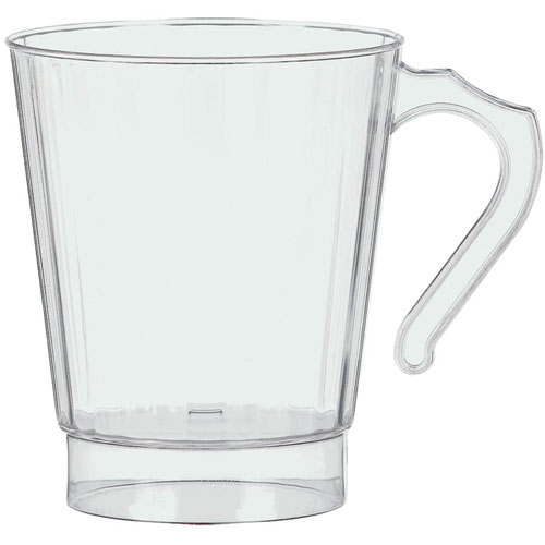 8 oz Premium Clear Coffee Cup