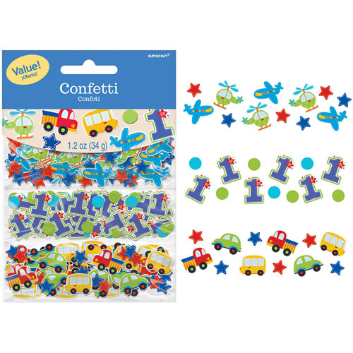 All Aboard Birthday Confetti Pack