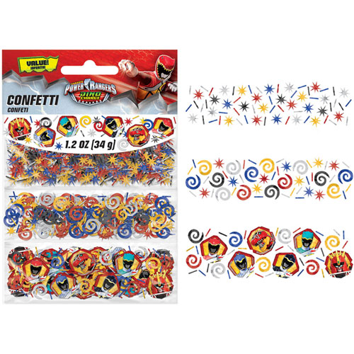 Power Ranger Dino Charge Confetti Value Pack
