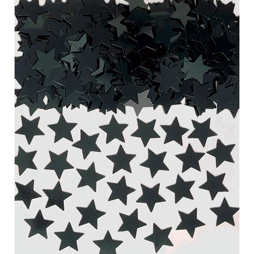 Black Stars Confetti Pack