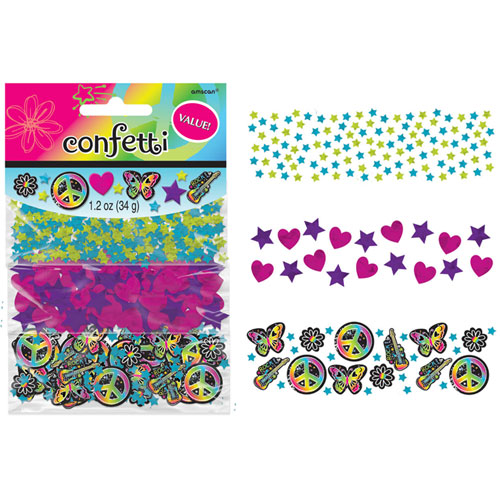 Neon Birthday Confetti Pack