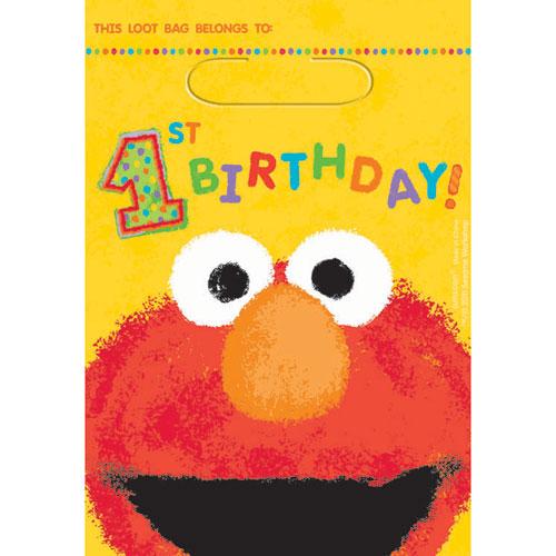 Sesame Street 1st Birthday Loot Bag
