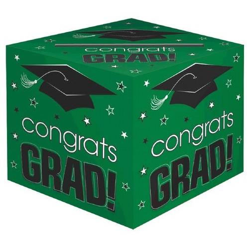 Congrats Grad Green Card Box