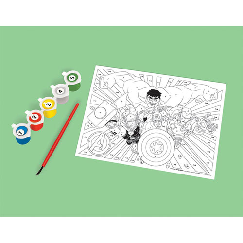 Avengers Paint By Numbers Kit