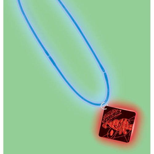 Spider-Man Glow Pendant Necklace