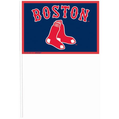 Boston Red Sox Plastic Flag