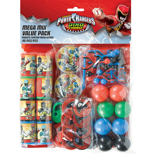 Power Ranger Dino Charge Super Mega Mix Value Pack