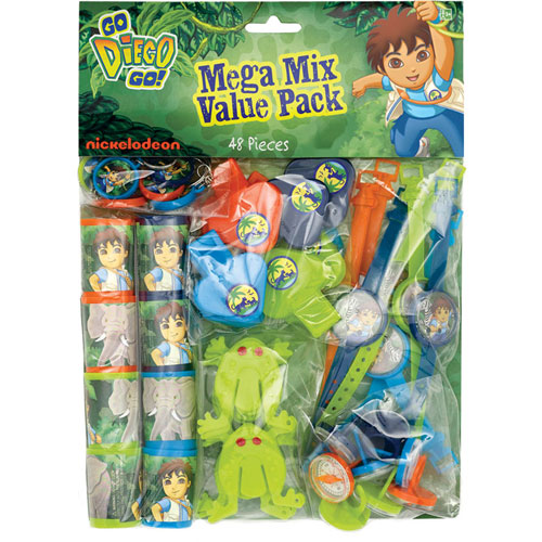 Diego's Biggest Rescue Favor Pack (48 Pieces)