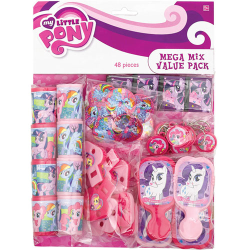 My Little Pony Favor Pack (48 Pieces)