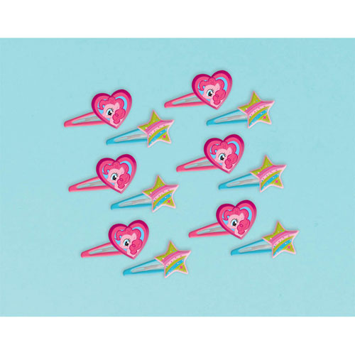 My Little Pony Hair Clip Favors 12ct