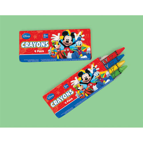 Mickey Fun and Friends Crayons