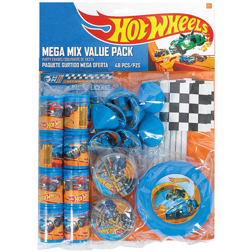 Hot Wheels Wild Racer Favor Packs (48 ct)