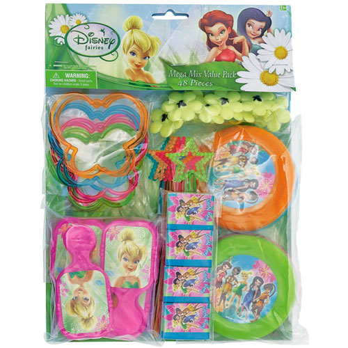 Tinker Bell and Fairies Favor Pack (48 Pieces)