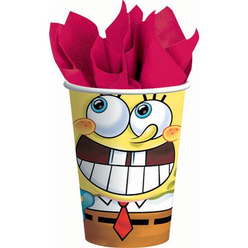 SpongeBob Classic 9oz Paper Cups (8ct)