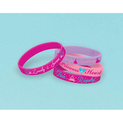 Princess Sparkle Rubber Bracelets