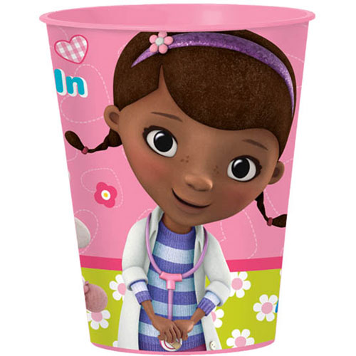 Doc McStuffins 16oz Favor Cup