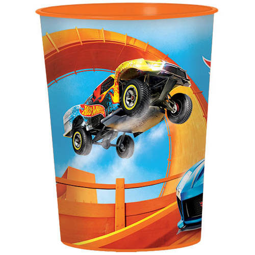 Hot Wheels Wild Racer Plastic Favor Cup