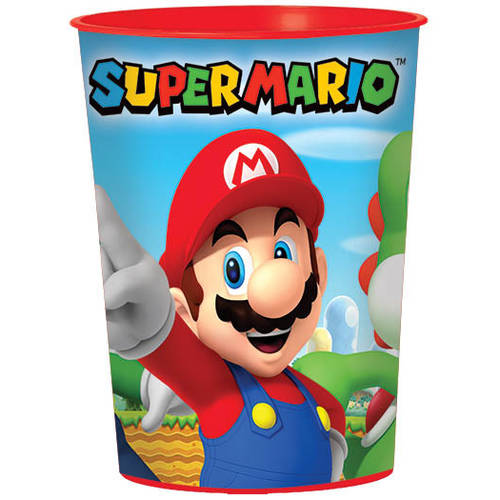 Super Mario 16oz Favor Cup
