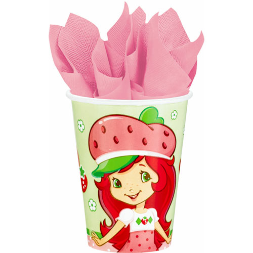 Strawberry Shortcake 9oz Paper Cups (8ct)