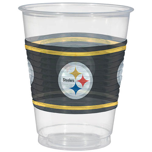 Pittsburgh Steelers 16oz Plastic Cups