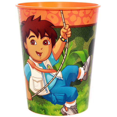 Diego's Biggest Rescue 16oz Favor Cup