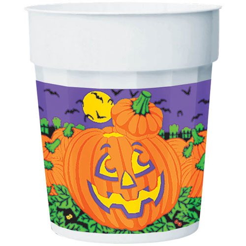 Big Pumpkin 16 oz Plastic Cup