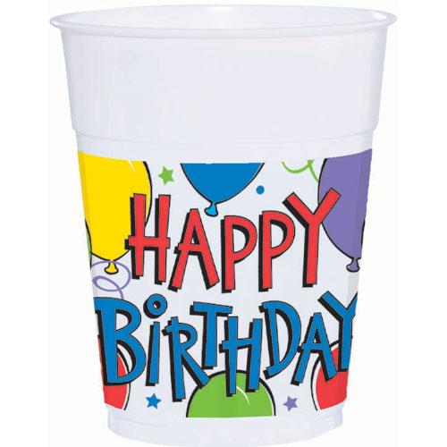 Balloon Fun 14oz Cups (50ct)