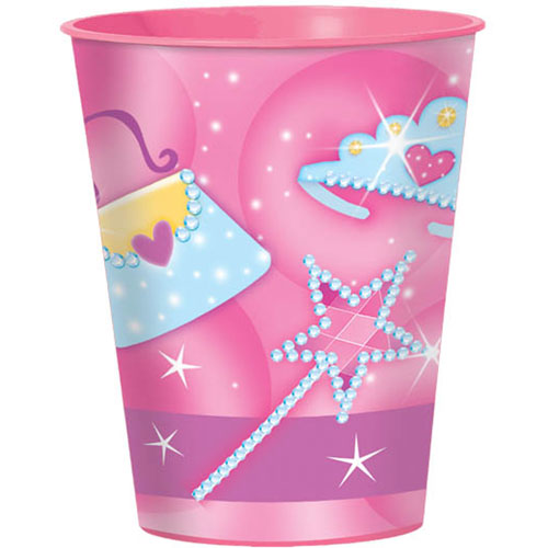Birthday Princess 16oz Favor Cup