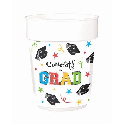 Grad Celebration 12 oz Plastic Cup