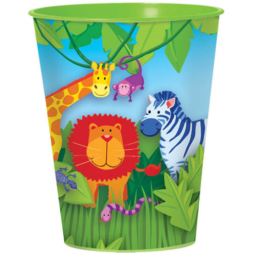Jungle Animals 16oz Favor Cup