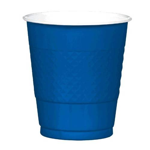 Bright Royal Blue 12oz Plastic Cups (20ct)