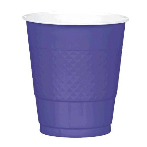 New Purple 12oz Plastic Cups (20ct)