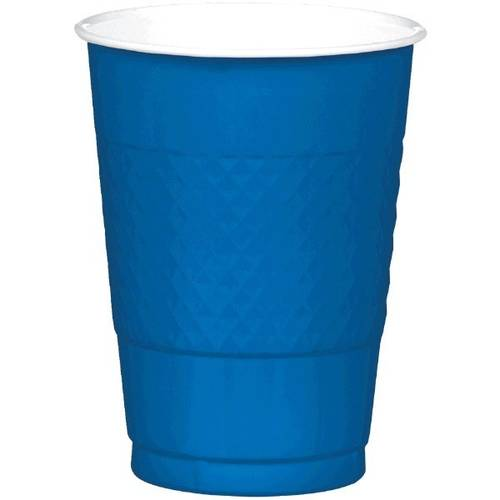 Bright Royal Blue 16oz Plastic Cups (20ct)