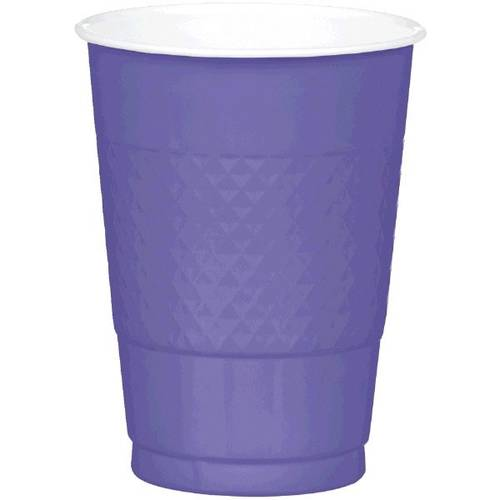New Purple 16oz Plastic Cups (20ct)