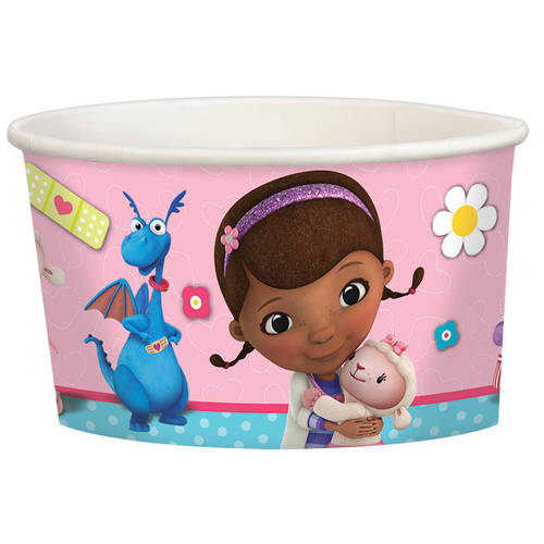 Doc McStuffins 9.5oz Paper Treat Cups (8ct)