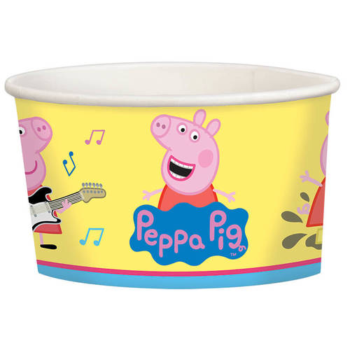 Peppa Pig 9.5oz Paper Treat Cups (8ct)