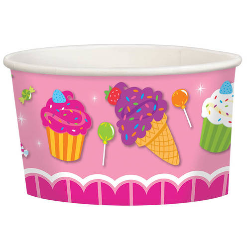 Sweet Shop 9.5oz Paper Treat Cup (8ct)